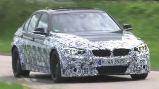 2014 BMW M3 F80 hits Nurburgring [HD video]