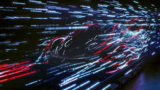 Lightshow Video Unveils the Future of McLaren [VIDEO]