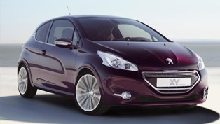 Peugeot 208 XY at the 2012 Paris Motor Show