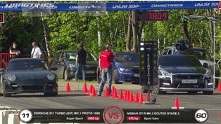 GT-R EcuTeck vs 911 Proto 1000 and 911 Switzer