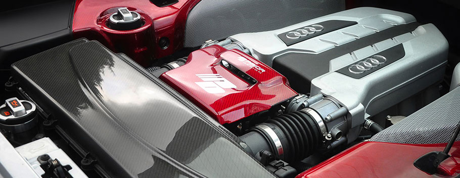 prior design audi r8 pd-gt850 engine