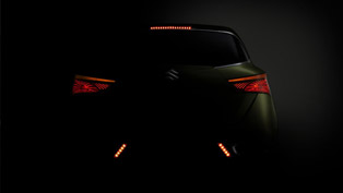 Suzuki S-Cross Concept Teased Again Ahead of its Debuts in Paris