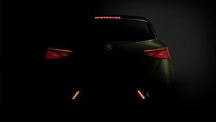 Suzuki S-Cross Concept Teased Again Ahead of its Debuts in Paris