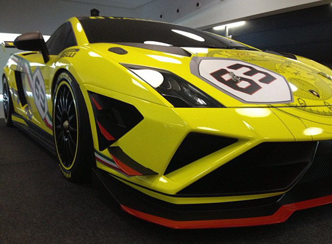 2013 Lamborghini Gallardo Lp 570 4 Super Trofeo