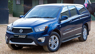 2013 SsangYong Korando Sports Pick-Up - Price £18,295
