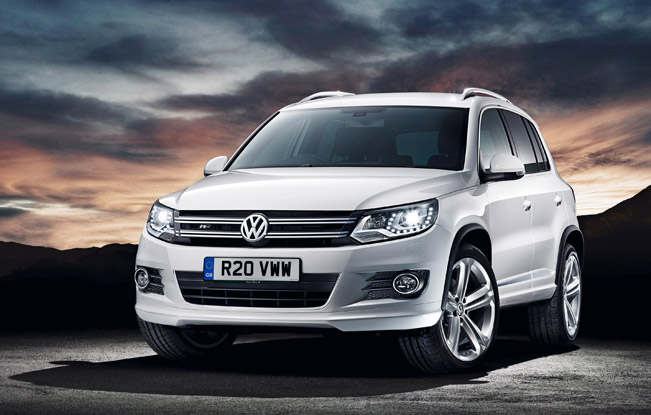 volkswagen tiguan r line is the new trim level which joins. Black Bedroom Furniture Sets. Home Design Ideas