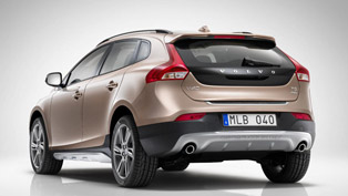 2013 Volvo V40 R-Design and Cross Country - Pricing £22,295 and £22,595