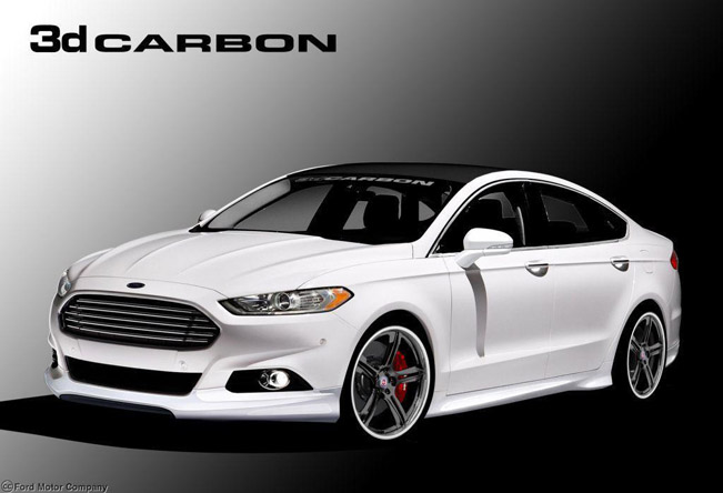 Ford Fusion Range At The 2012 Sema