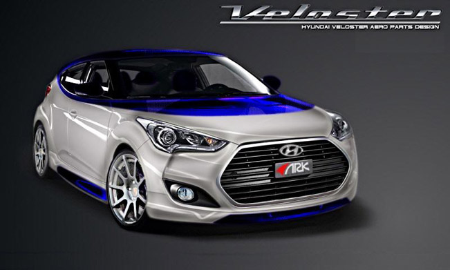 Ark Performance Hyundai Veloster Alpine Concept At The