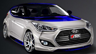 ARK Performance Hyundai Veloster Alpine Concept at the 2012 SEMA