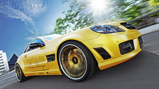 fostla mercedes-benz sl 55 amg lquid gold with 548 horsepower
