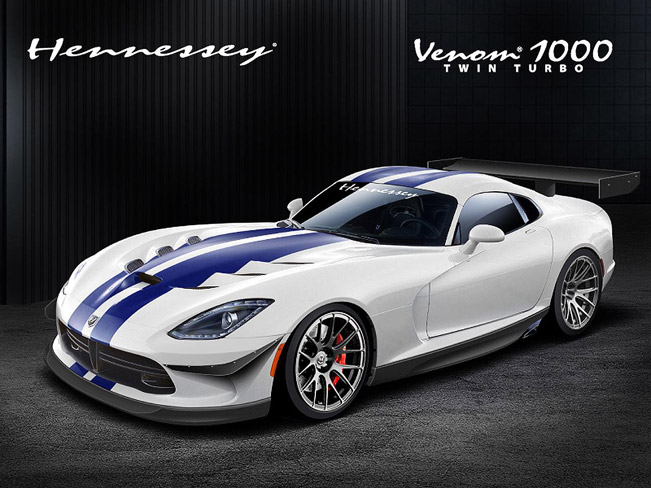 hennessey venom 700r and venom 1000 twin turbo