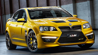 Holden SV GTS 25th Anniversary Limited Edition Released
