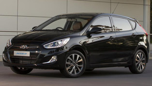 Hyundai Accent SR Concept at the Australian International Motor Show