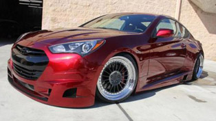FuelCulture Hyundai Genesis Coupe at the 2012 SEMA