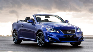 Lexus IS 250C F Sport Adds More Style to the Line-Up