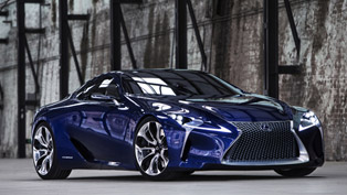 Lexus LF-LC Blue Concept Revealed in Sydney