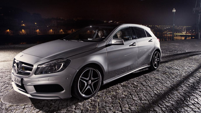Mercedes benz a class presents youdrive video for Mercedes benz special order
