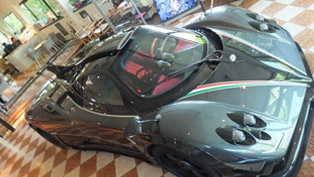 pagani zonda 764 passione - powerful than zonda r