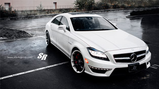 SR Auto Mercedes-Benz CLS63 AMG Equipped with ADV 5.0 Wheels