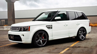 SR Auto Range Rover Made Sharper with Vossen CV3