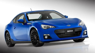 Subaru BRZ STI Concept at the 2012 AIMS