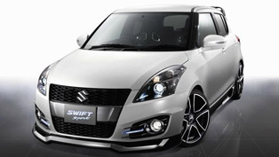 Suzuki Swift Sport Concept at 2012 AIMS