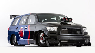 Toyota DragQuoia Family Sequoia Dragster Concept Debuts at SEMA
