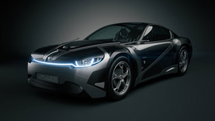Tronatic Everia Concept: The French Electric Muscle Car