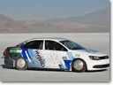 Volkswagen Jetta Hybrid - Speed Record at Bonneville