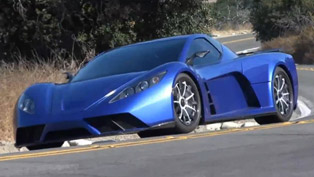 Kepler Motion Supercar - 800HP Hybrid [video]