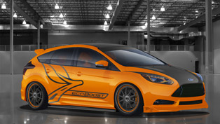 Ford Focus ST Range at 2012 SEMA