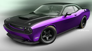 Dunham's Dodge Challenger SRT8 Project UltraViolet is no Laughing Matter