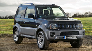 2013 Suzuki Jimny - New Face and Better Equipment