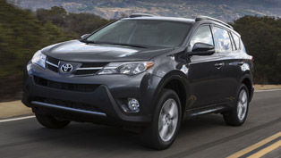2013 Toyota RAV4 at the Los Angeles Auto Show
