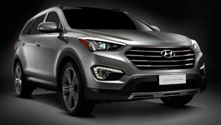 2012 Hyundai Santa Fe - 5 Stars in Euro NCAP Crash Test