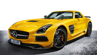 2014 Mercedes-Benz SLS AMG Coupé Black Series Revealed