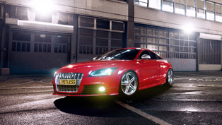 d2forged audi tt-s xl3 shows more aggressive stance