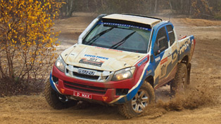 isuzu dakar d-max set to compete in the famous rally