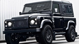 Kahn Design Land Rover Defender Harris Tweed Edition