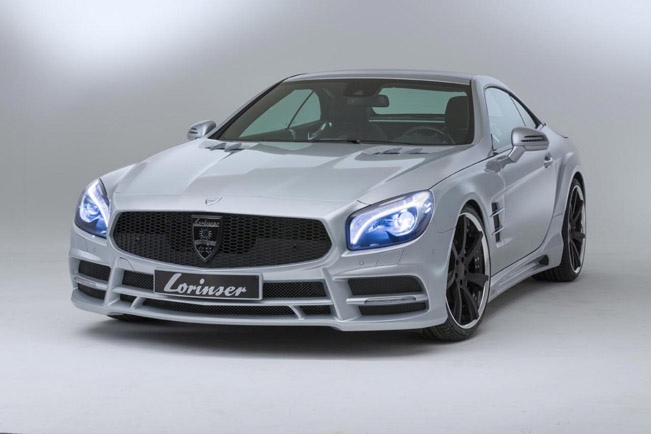 lorinser has announced their latest project based on mercedes benz sl 500 the r231 model the car comes with nice body kit and some power boost