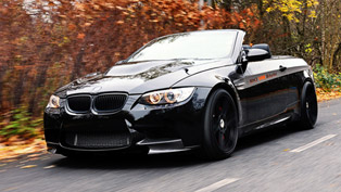 manhart bmw m3 e92 mh3 v8 r biturbo convertible produces 655 horsepower