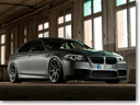 The noble Stealth Fighter: Manhart BMW M5 MH5 S Biturbo