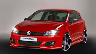distinctive styling: oettinger volkswagen golf vii