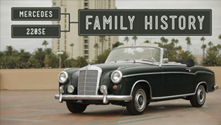 petrolicious: mercedes-benz 220se and family history [video]