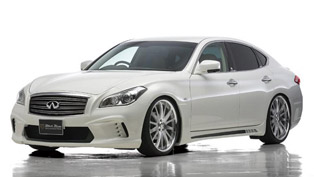 Wald International Infiniti M Black Bison