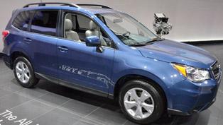 2013 Subaru Forester - Crash Test [video]