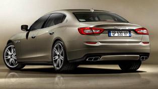 2013 maserati quattroporte - 409hp and 550nm