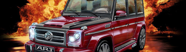 A.R.T. Mercedes-Benz G63 / G65 AMG Wide Body kit