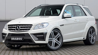 Brabus 2012 Mercedes-Benz ML Widestar